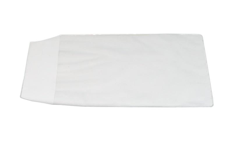 Koperty z półtwardej folii PVC moletowanej